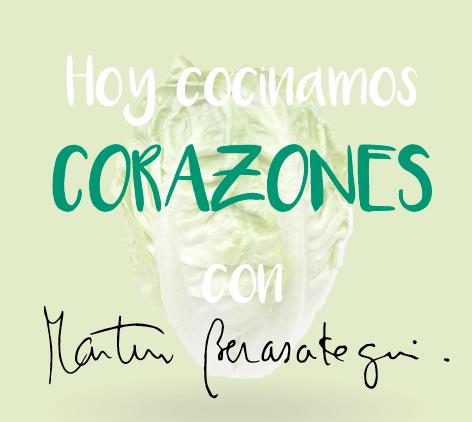 ENSALADA DE CORAZONES CON POLLO